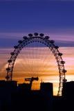 Ojo de Londres en Londres fotos de archivo libres de regalías