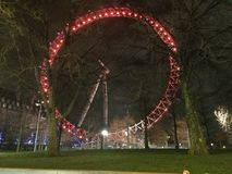 Ojo de Londres en Londres Foto de archivo libre de regalías