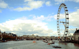 Ojo de Londres en Londres Fotografía de archivo libre de regalías