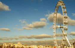 Ojo de Londres en Londres, Reino Unido Fotos de archivo