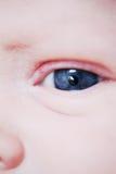 Ojo del bebé del primer Foto de archivo