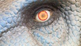 Ojo del dinosaurio Imágenes de archivo libres de regalías