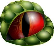 Ojo del dragón del vector Fotos de archivo libres de regalías