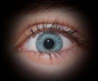 Ojo del espía Imagen de archivo libre de regalías