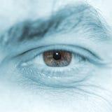 Ojo del hombre Foto de archivo libre de regalías