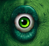 Ojo del monstruo ilustración del vector