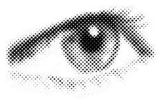 Ojo del vector Fotografía de archivo