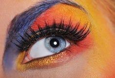 ojo hermoso de la mujer Foto de archivo libre de regalías