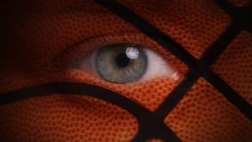 Ojo 4K de la fan de baloncesto