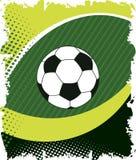 Ojo verde del fútbol Parrilla abstracta El verde doted fondo Foto de archivo