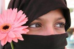 Ojos árabes Imagenes de archivo