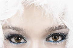 Ojos Imágenes de archivo libres de regalías
