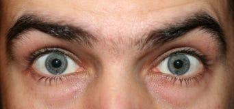 Ojos abiertos de par en par Fotos de archivo