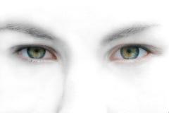 Ojos abstractos Fotos de archivo