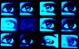 Ojos azules Foto de archivo