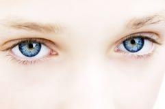 Ojos azules Fotografía de archivo libre de regalías
