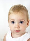 Ojos azules grandes Imágenes de archivo libres de regalías
