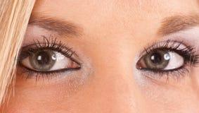 Ojos azulverdes Foto de archivo libre de regalías