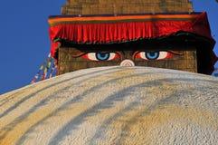 Ojos de Buddha Imagenes de archivo