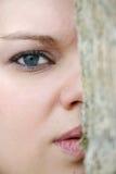 Ojos de la naturaleza Foto de archivo libre de regalías