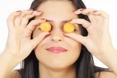 Ojos de la zanahoria Imágenes de archivo libres de regalías