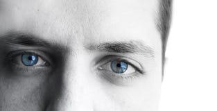 Ojos de los hombres Fotografía de archivo