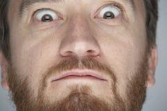 Ojos de par en par 02 imagen de archivo