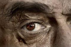 Ojos de un viejo hombre Imágenes de archivo libres de regalías