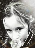 Ojos del diente de león Imagenes de archivo