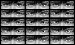 Ojos del hombre Fotos de archivo libres de regalías