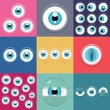 Ojos del monstruo Fotografía de archivo libre de regalías