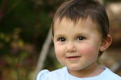 Ojos del niño del bebé fotografía de archivo libre de regalías