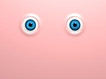 Ojos divertidos Fotos de archivo libres de regalías