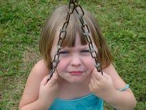 Ojos enojados fotografía de archivo libre de regalías