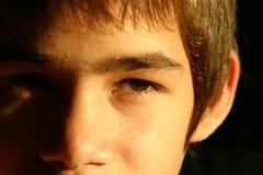 Ojos expresivos Imágenes de archivo libres de regalías