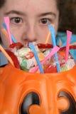 Ojos grandes para el caramelo 1 Imágenes de archivo libres de regalías