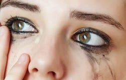 Ojos gritadores Imágenes de archivo libres de regalías