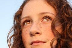 Ojos hermosos imagen de archivo libre de regalías