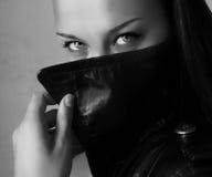 Ojos hermosos de la mujer Imagenes de archivo