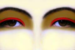 Ojos imaginarios Fotos de archivo