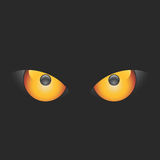 Ojos malvados del vector Fotos de archivo libres de regalías