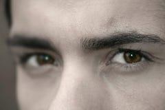Ojos oscuros Fotografía de archivo libre de regalías