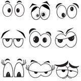 Ojos, sistema Imagen de archivo libre de regalías