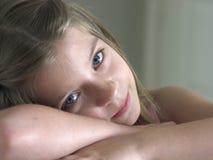 Ojos soñolientos Imagen de archivo libre de regalías