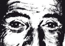 Ojos (vector) ilustración del vector