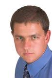Ojos verdes del hombre de negocios Imagenes de archivo