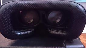 Ojos virtuales de la caja Imágenes de archivo libres de regalías