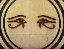 Ojos y círculos Imagen de archivo
