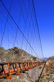 Ojuela bridge Royalty Free Stock Image