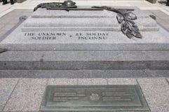 Okänd soldat Grave - Ottawa - Kanada royaltyfria bilder